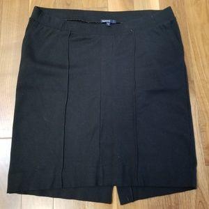 Gap Maternity black knit pencil skirt